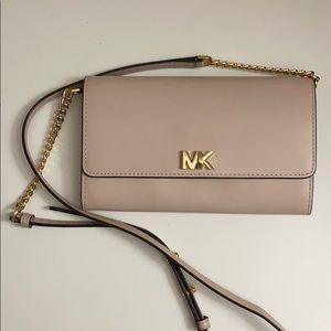 Michael Kors WOC / clutch, blush pink